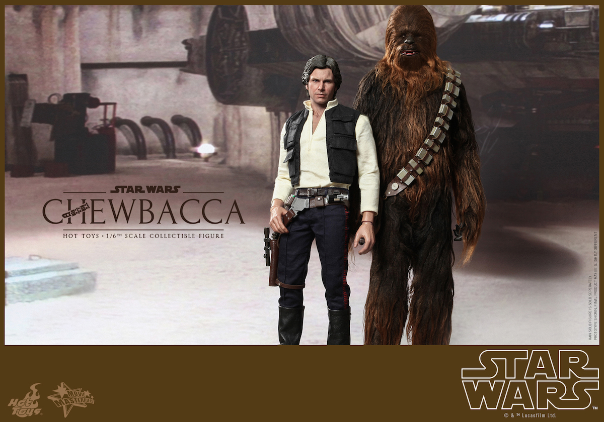 Hot Toys' Star Wars: Episode IV A New Hope: 1/6th scale Chewbacca
