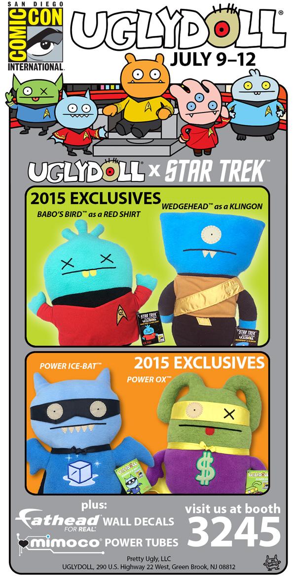 SDCC15: Uglydolls Exclusives
