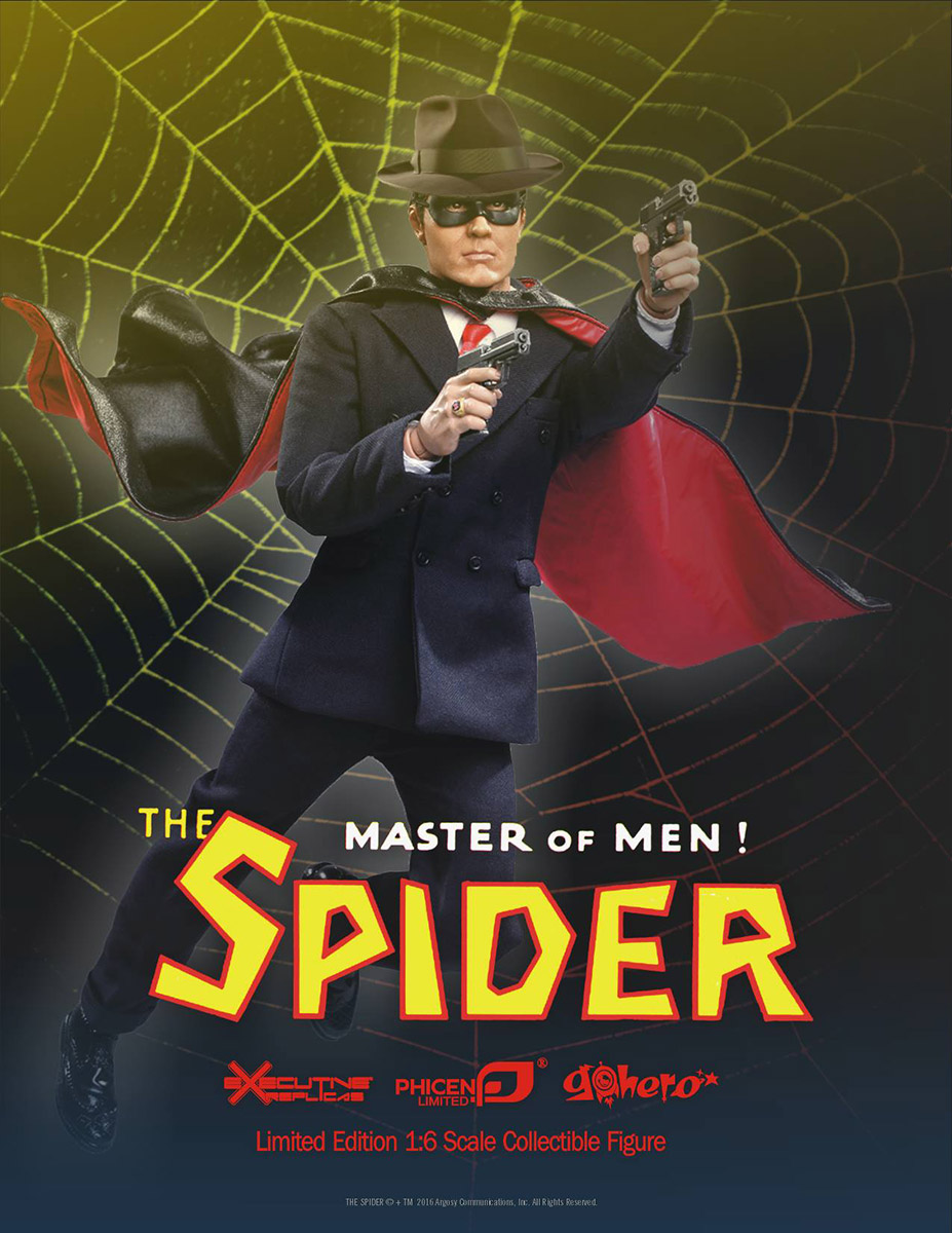 The Spider 1/6th Scale Collectible Figure