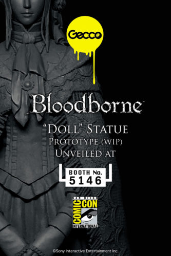 SDCC16: Gecco's Dark Souls lll and Bloodborne Statues