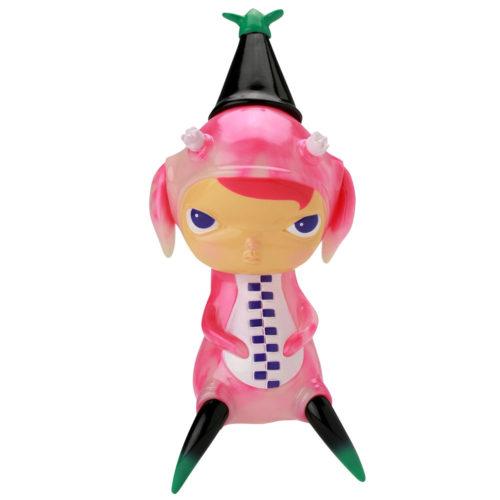 Pink GID Swirl Stingy Jack and Calliope Jackalope