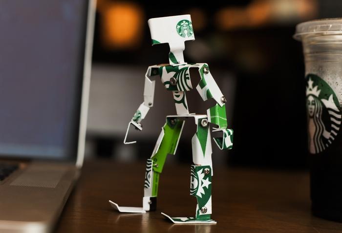 Kickstarter: Coffee Card Robot