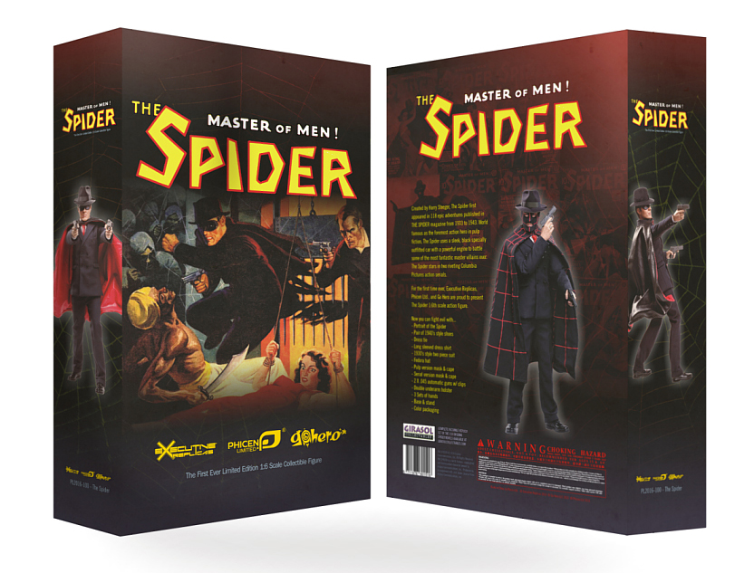 The Spider Box Art Unveiled