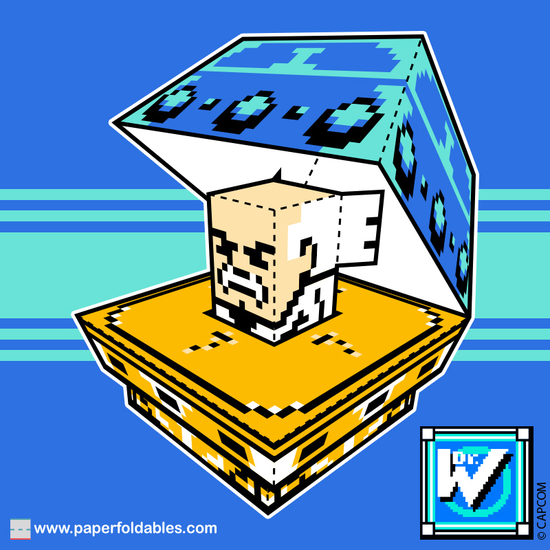 Dr. Wily Paper Foldable