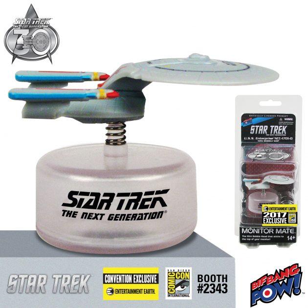 Star Trek: The Next Generation Enterprise Monitor Mate Bobble Ship