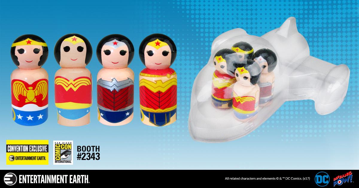 SDCC17: Wonder Woman Evolution Pin Mate Set