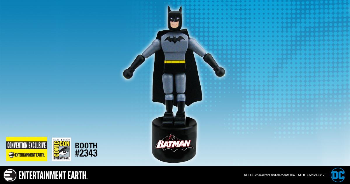 SDCC17: Batman Classic Wooden Push Puppet