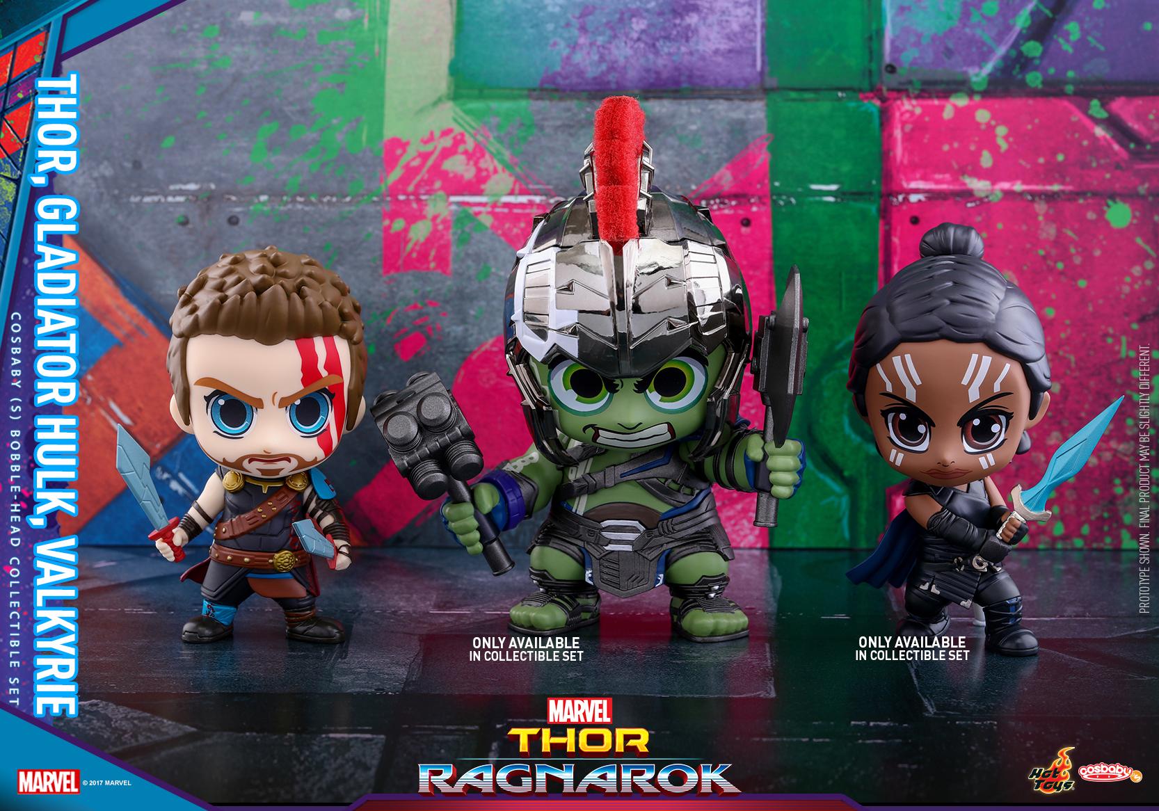 Thor: Ragnarok Cosbaby (s) Bobble-head Series