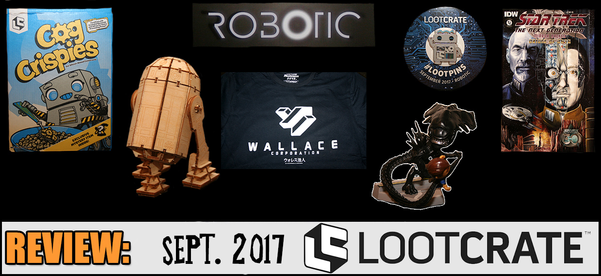 REVIEW: September 2017 Loot Crate