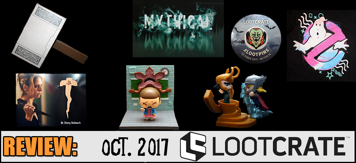 REVIEW: October 2017 Loot Crate