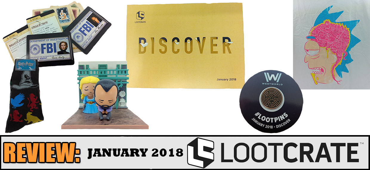 REVIEW: January 2018 Loot Crate