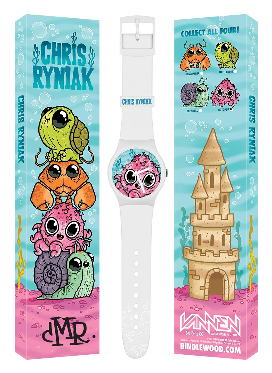 Chris Ryniak: Octopup Watch from Vannen