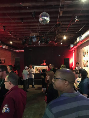 The Art of MST3K The Comic #1 Pop-Up Party
