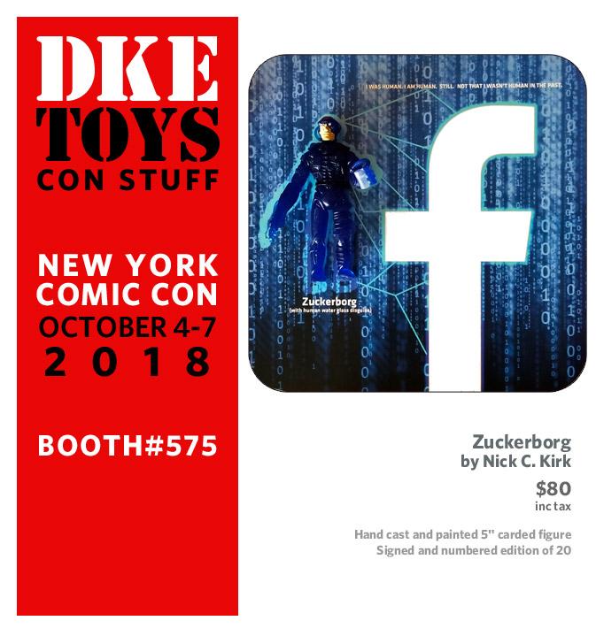NYCC18: DKE Toys Drop #3