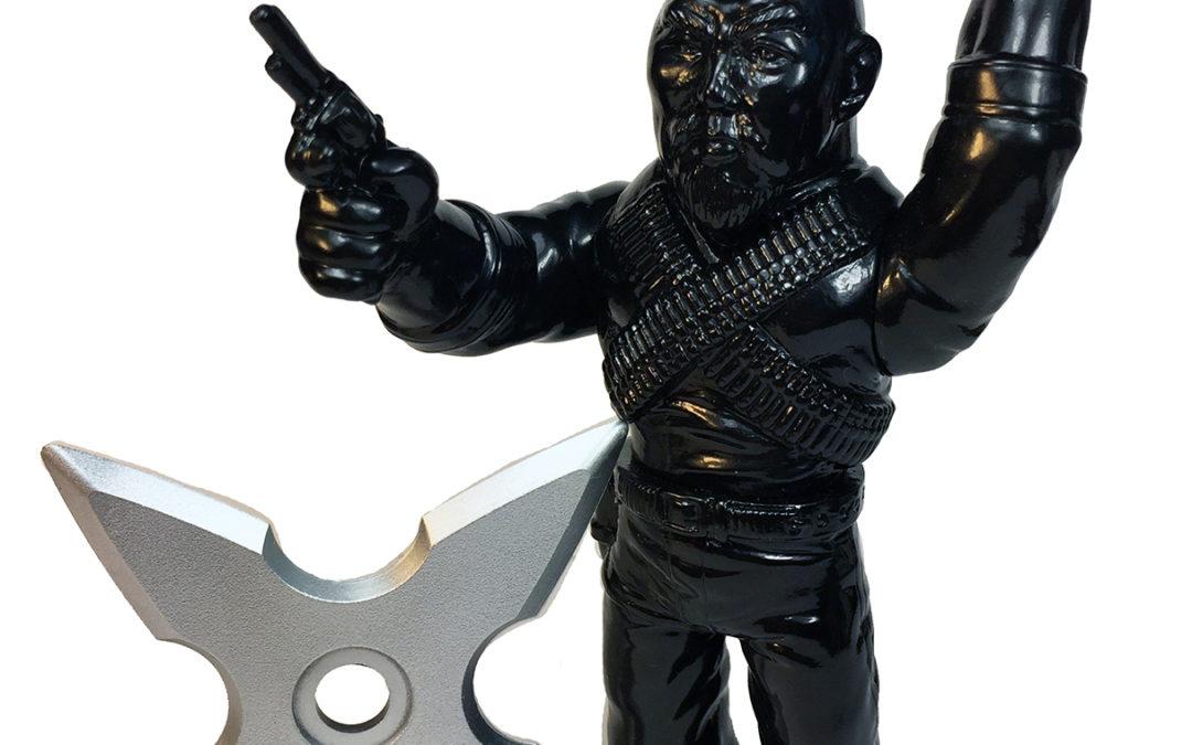 Gerald Okamura – Man Of Many Weapons – Ninja Edition Sofubi