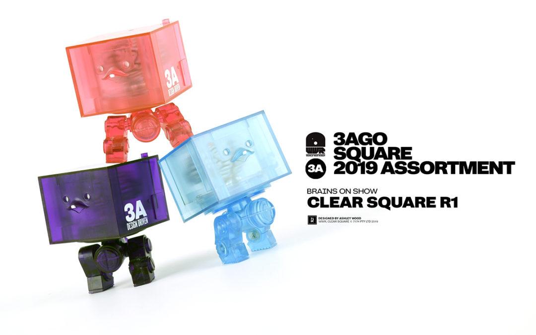 3AGO Clear Square R1 Set