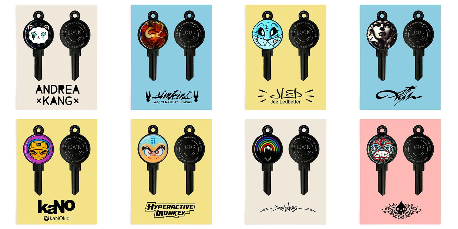 Art Keys from Look Keys
