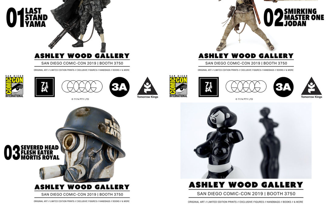 SDCC19: 3A Toys and the Ashley Wood Gallery