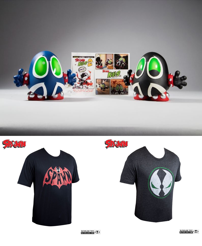New Spawn Merchandise – and some SDCC News