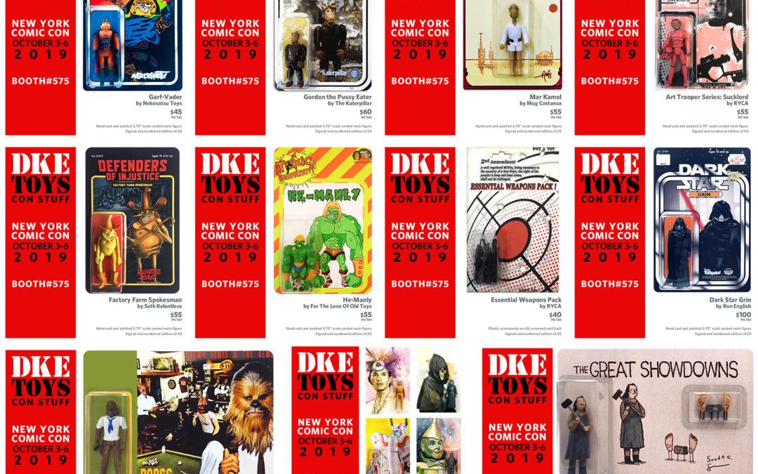 NYCC19: DKE Toys Drop #1
