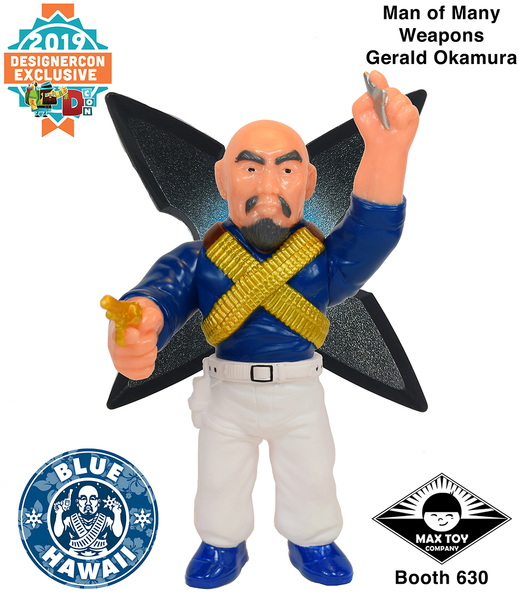 DesignerCon 2019 Exclusive Man of Many Weapons –Blue Hawaii Edition