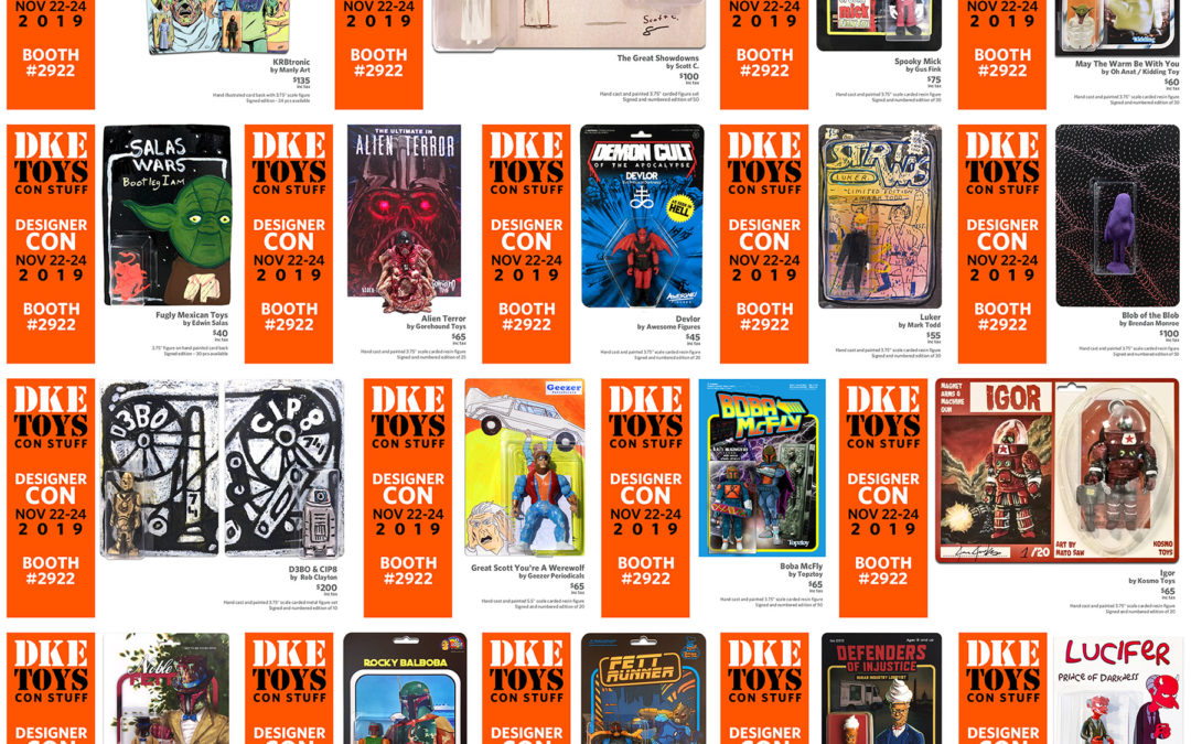 DesignerCon 2019 – DKE Toys Releases #1