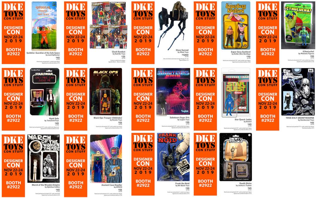 DesignerCon 2019 – DKE Toys Releases #2
