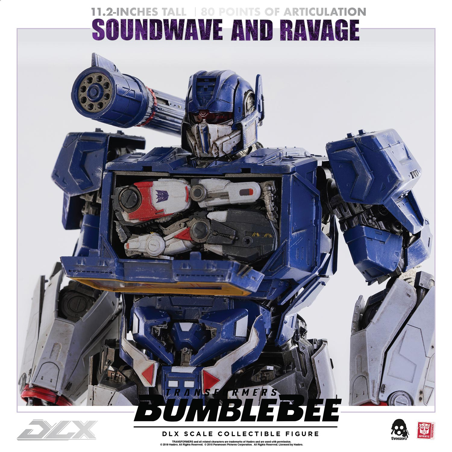 Transformers Bumblebee – DLX Soundwave and Ravage
