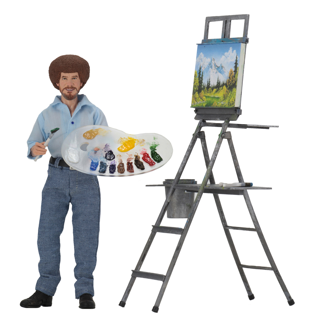 Bob Ross – 8-inch Clothed Action Figure