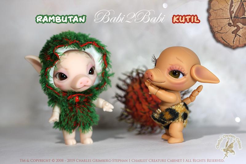 CCC's – Babi2Babi – Rambutan and Kutil