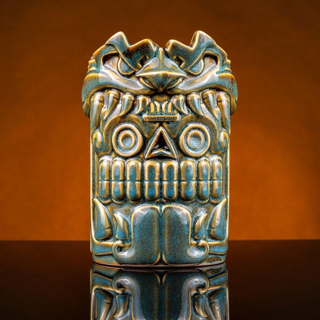 Mouth of the Serpent Designer Series Tiki Mug