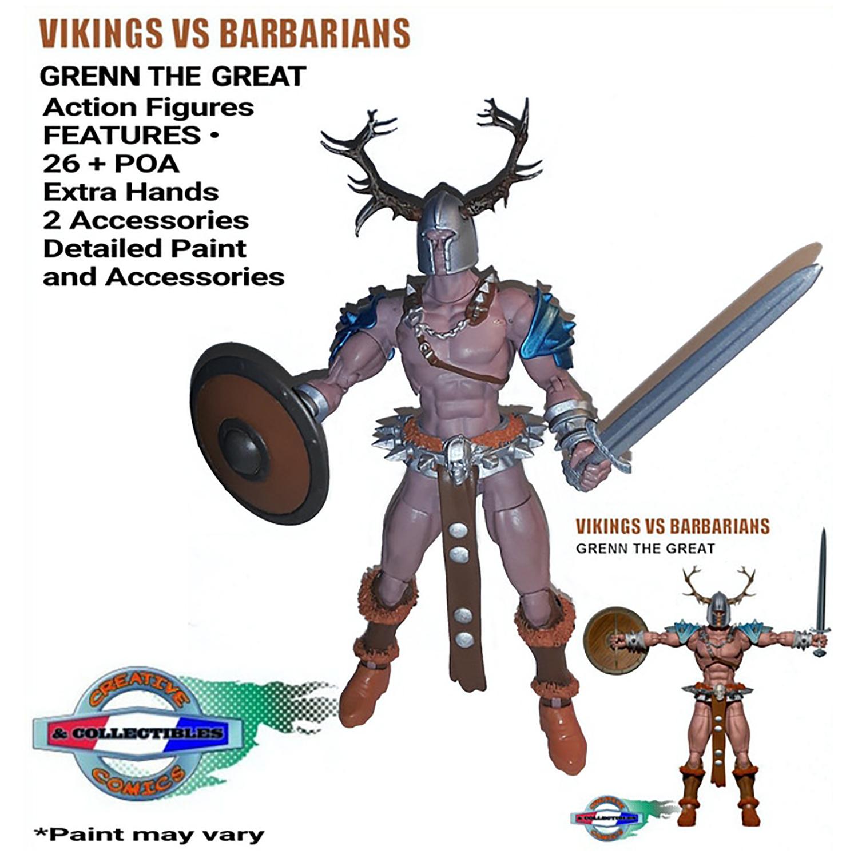 KICKSTARTER: Vikings vs Barbarians