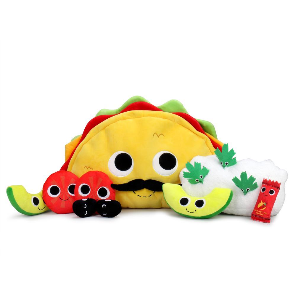 Yummy World XL Victorio Veggie Taco Plush Set