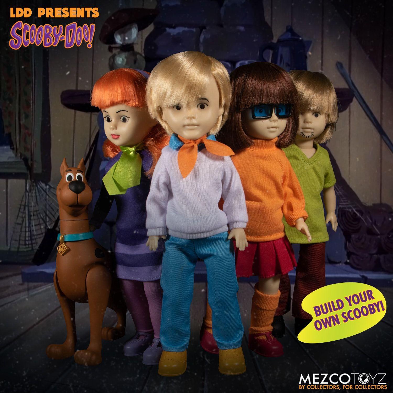 LDD Presents Scooby-Doo: Mystery Inc – Build-A-Figure