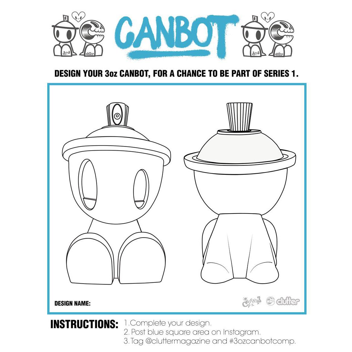 3oz Canbot Blindbox Series Artist Call