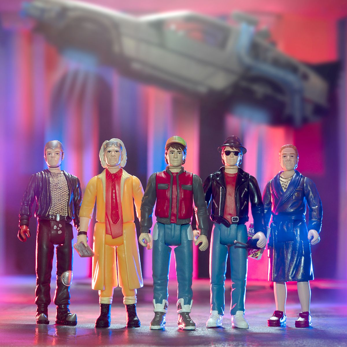 Back to the Future 2 ReAction Figure Wave 1