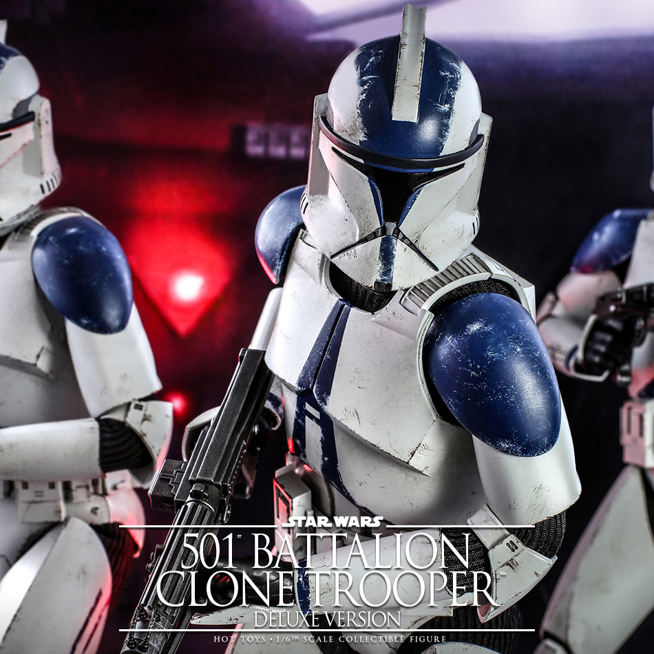 Hot Toys – 1/6th scale Clone Trooper from the 501st Battalion