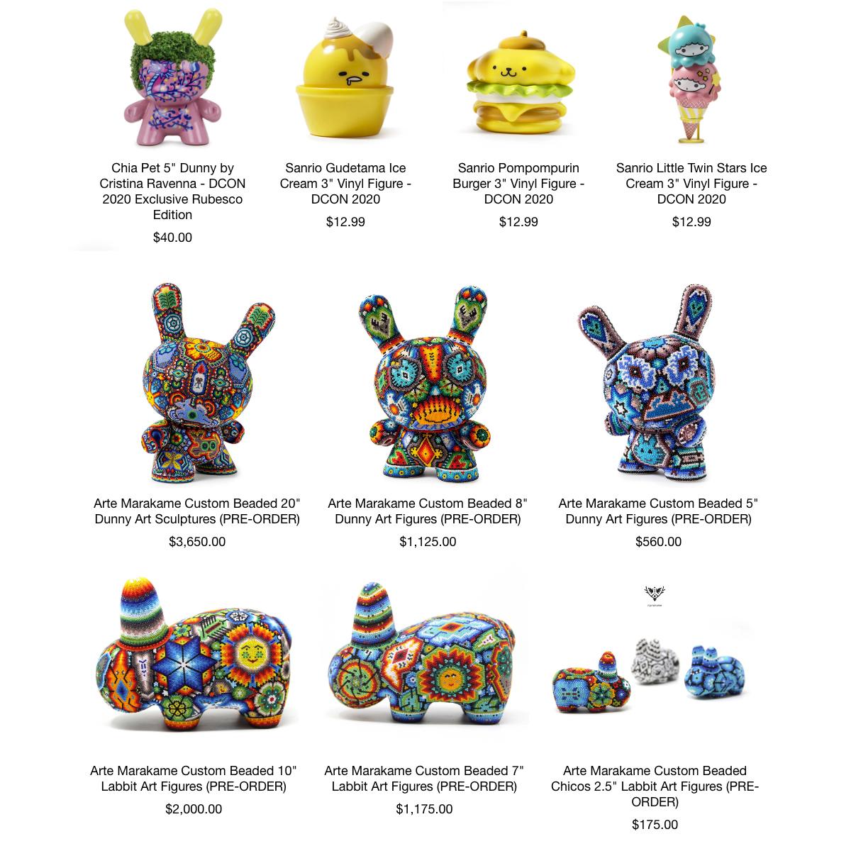 DCON20: Kidrobot Releases