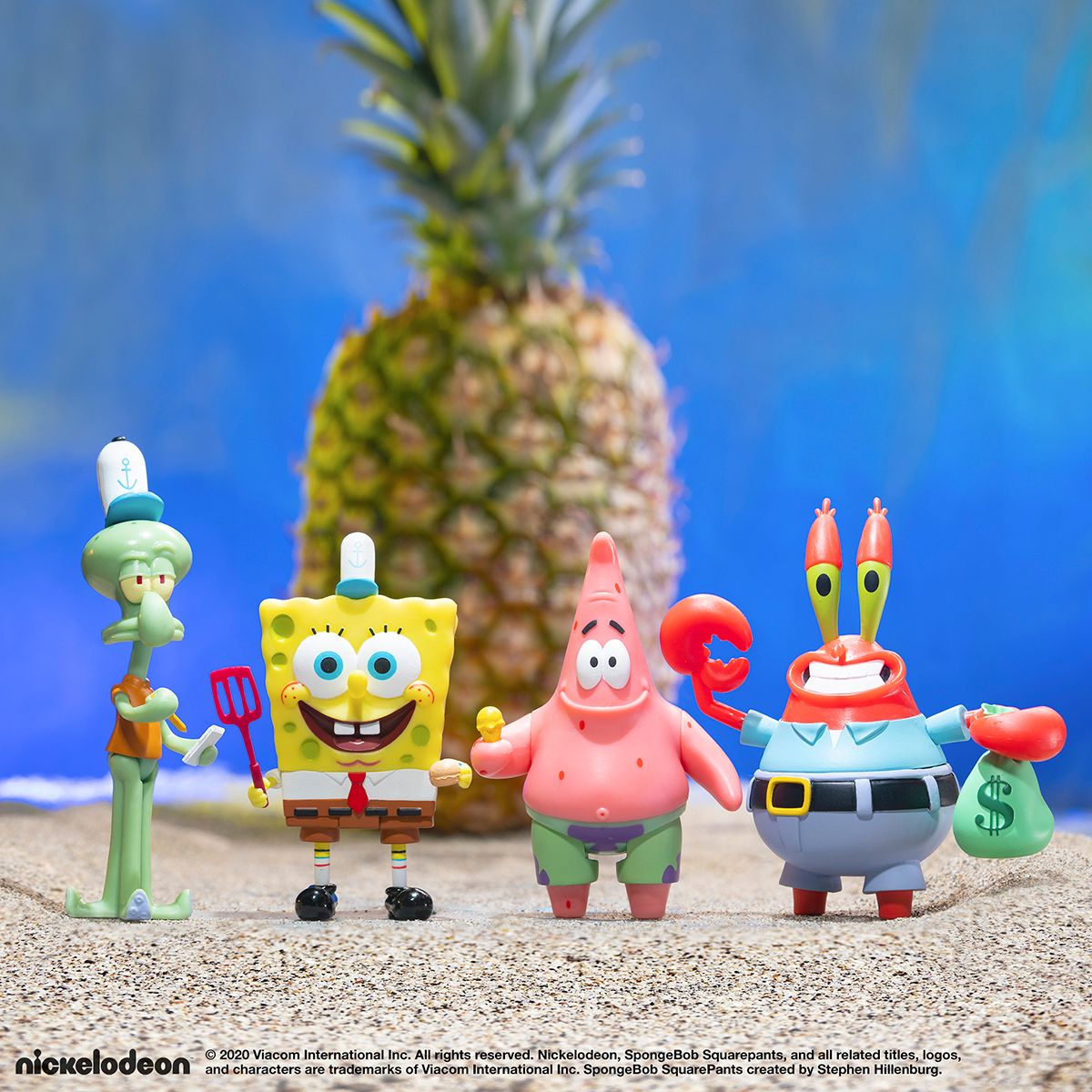 SpongeBob SquarePants ReAction Wave 1