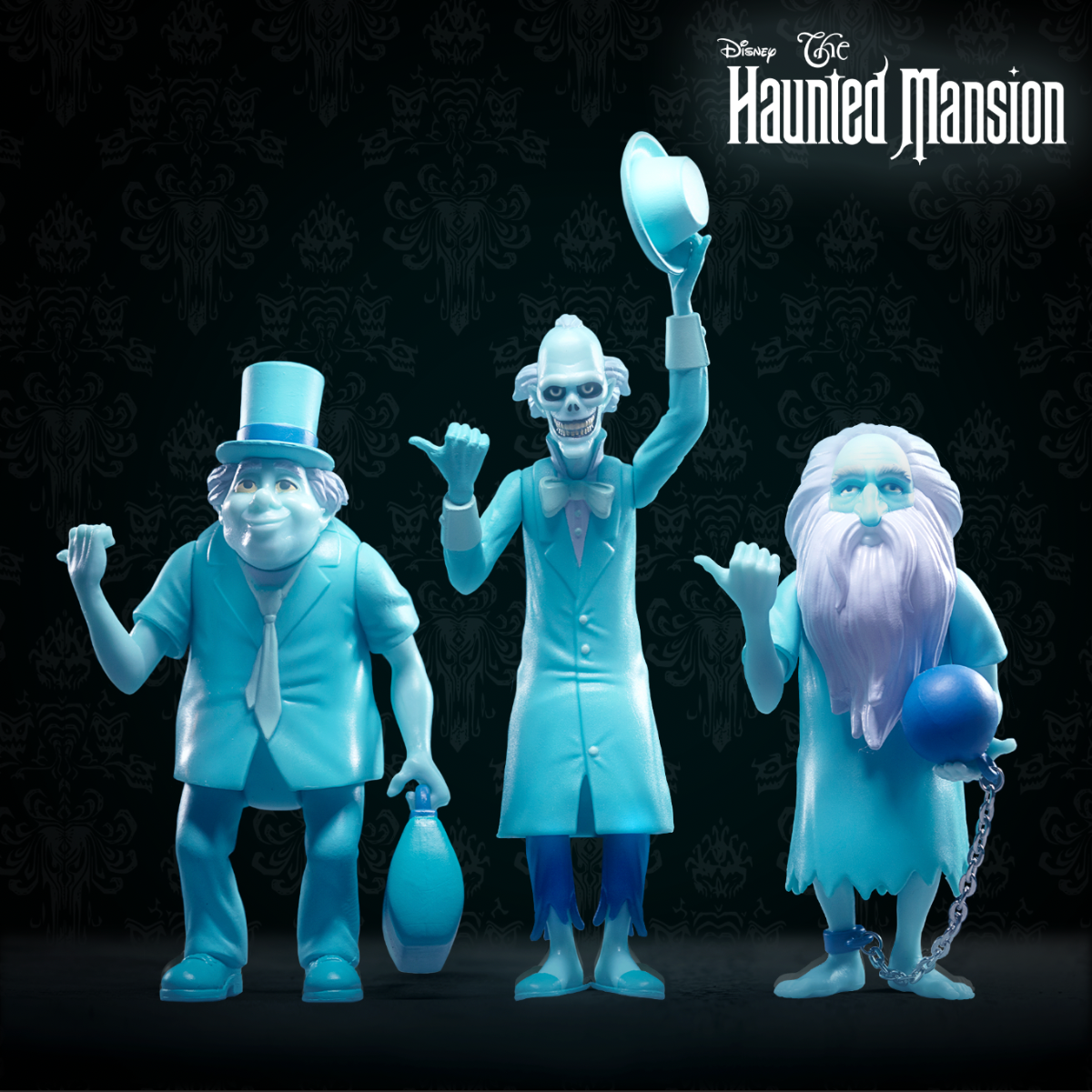 Disney ReAction Figures – Haunted Mansion Wave 1