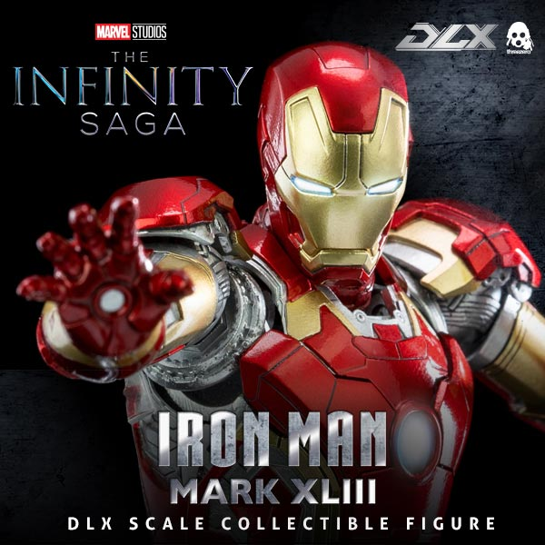 Avengers: Infinity Saga 1/12 scale DLX Iron Man Mark 43