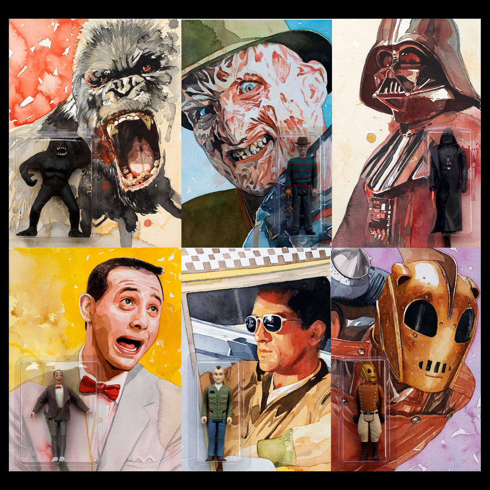 Influential Figures by Lou Pimentel at Gallery1988