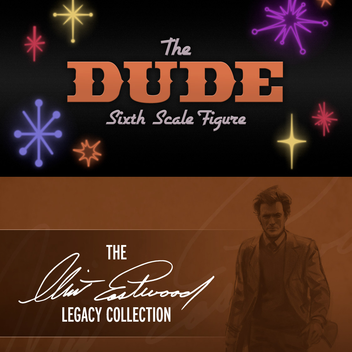 Sideshow teases The Dude and Eastwood Collection