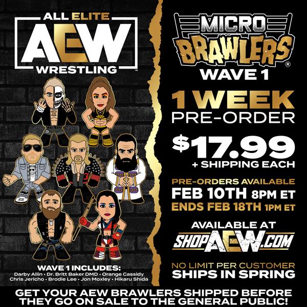 AEW Micro Brawlers Wave 1