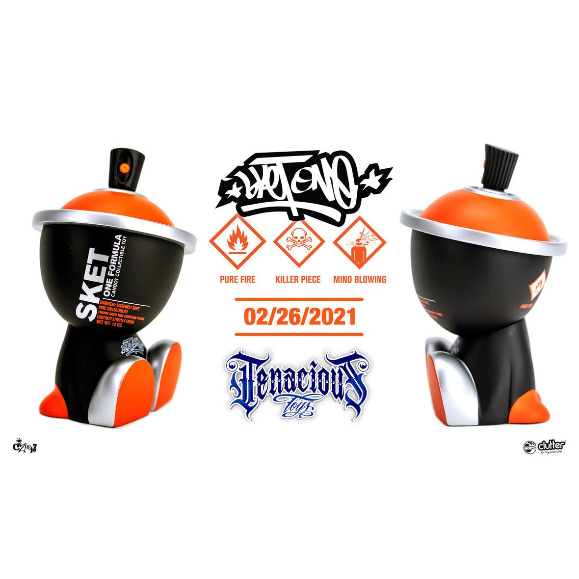 One Formula Clockwork Orange Canbot by Sket One